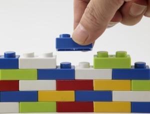lego brick building is like CCF