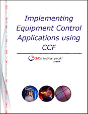 Implementing Equipment Control Applications using CCF