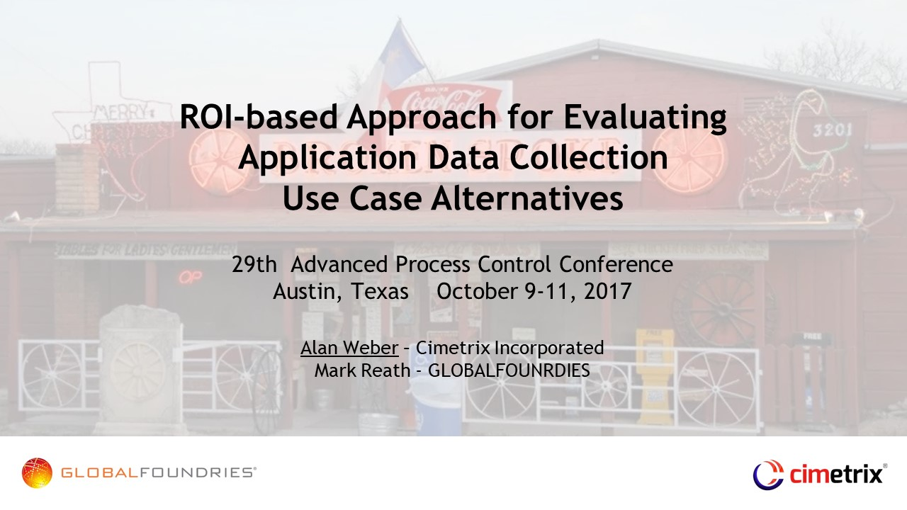 ROI bsed approach for evaluating Data Collection